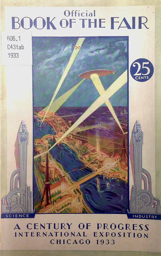 Case 1: Guidebook for the Century of Progress Exposition, 1933.
