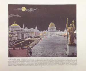 Case 1: Book of illustrations of the World's Columbian Exposition, 1894.