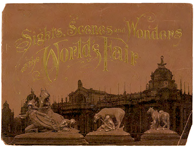 Souvenir photo book from the Louisiana Purchase Exposition, 1904.
