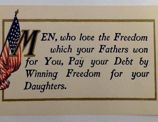 Postcard, circa 1910s.