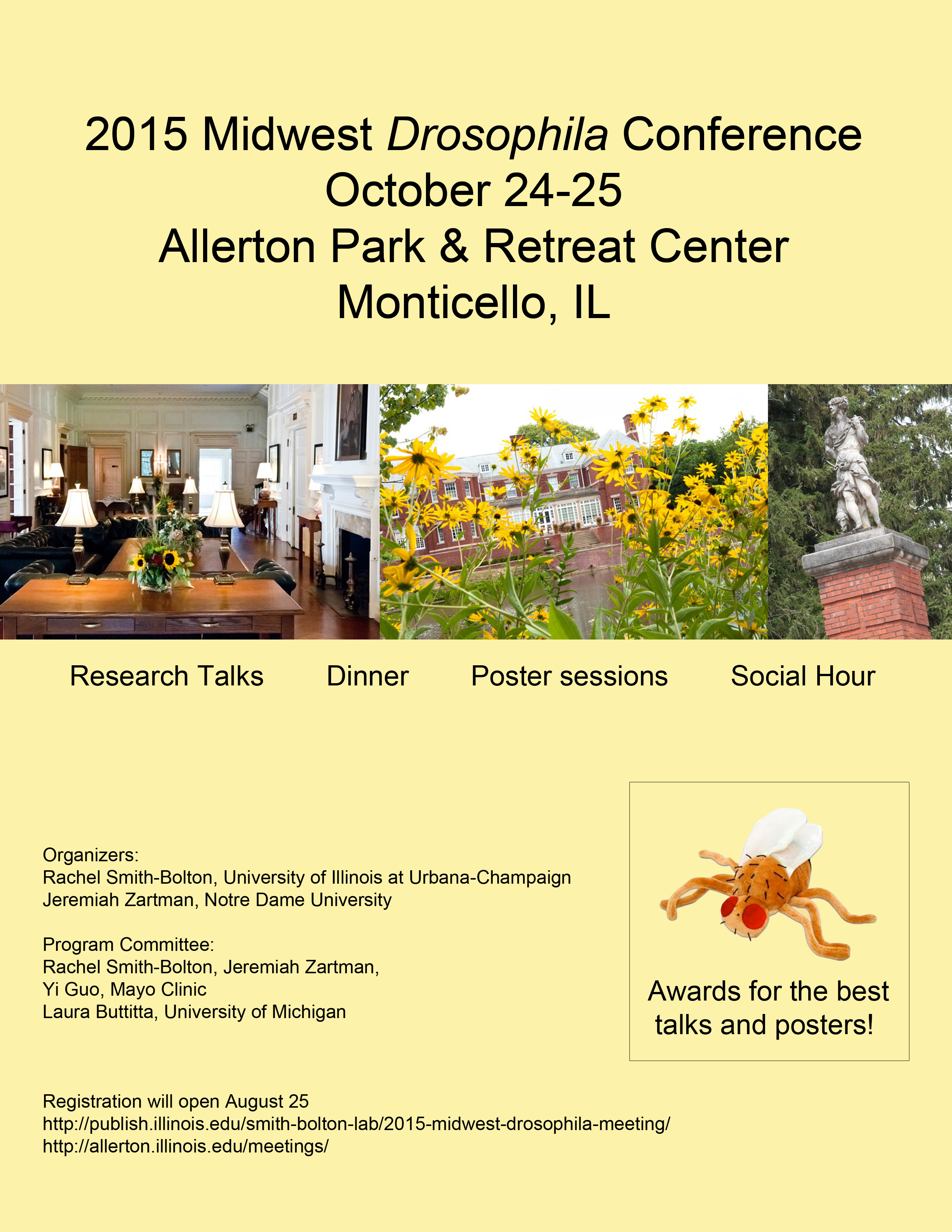 2015 Midwest Drosophila Meeting Flyer2