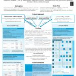 "A poster from the Academy for Excellence in Engineering 2017 poster session. The title reads ""Developing communication skills in engineering students at a large research university: an evaluation of current methods in the context of writing studies."""