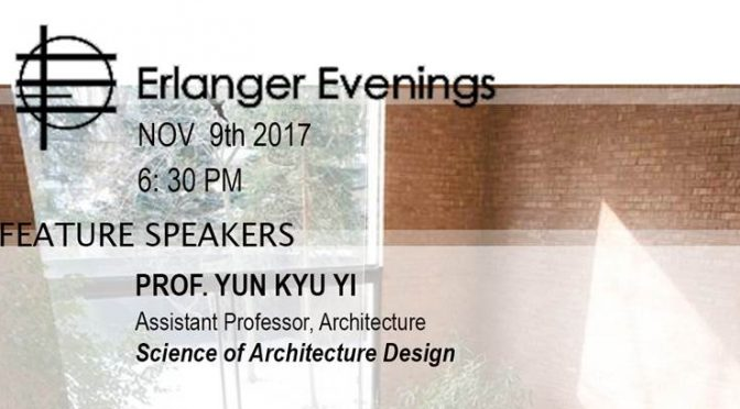 Invite for Erlanger night PhD talk